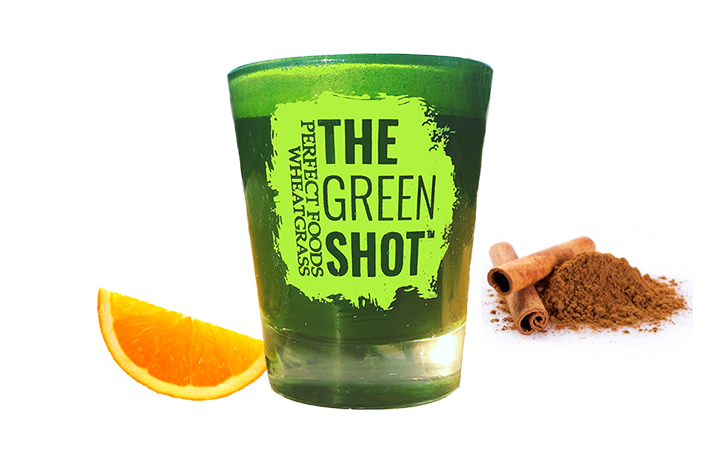 wheatgrass, the green shot, the party shot, ways to drink wheatgrass, wheatgrass shots