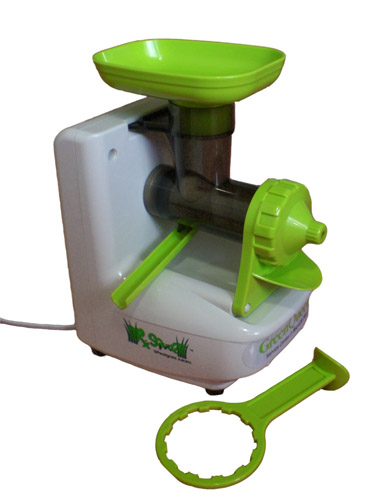 Dr. Squeeze Green Queen Electric Wheatgrass Juicer
