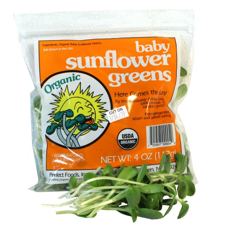 Sunflower Microgreens 4oz Bag