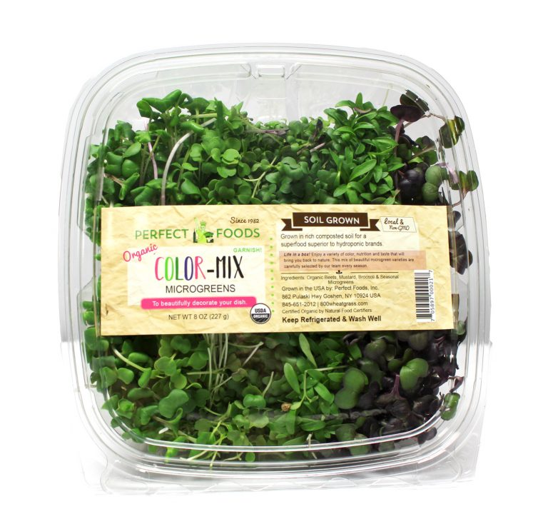 Color Mix Microgreens Perfect Foods