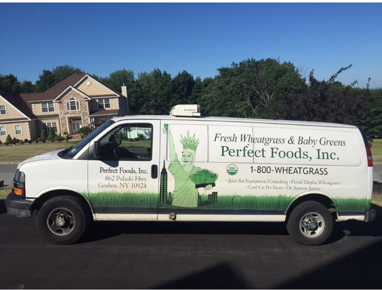 wheatgrass van