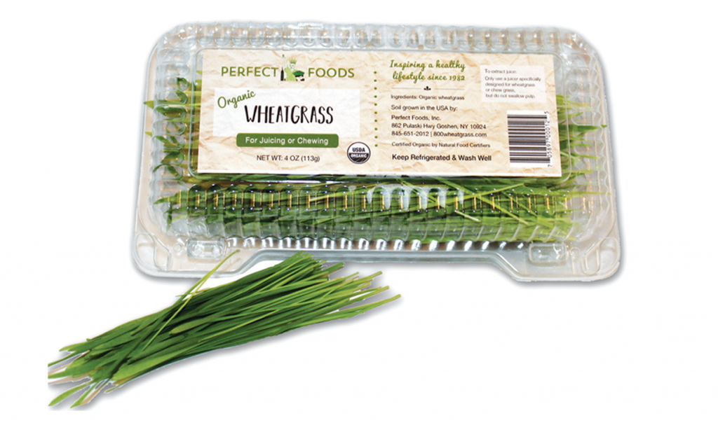 Wheatgrass 4 oz clamshell 1