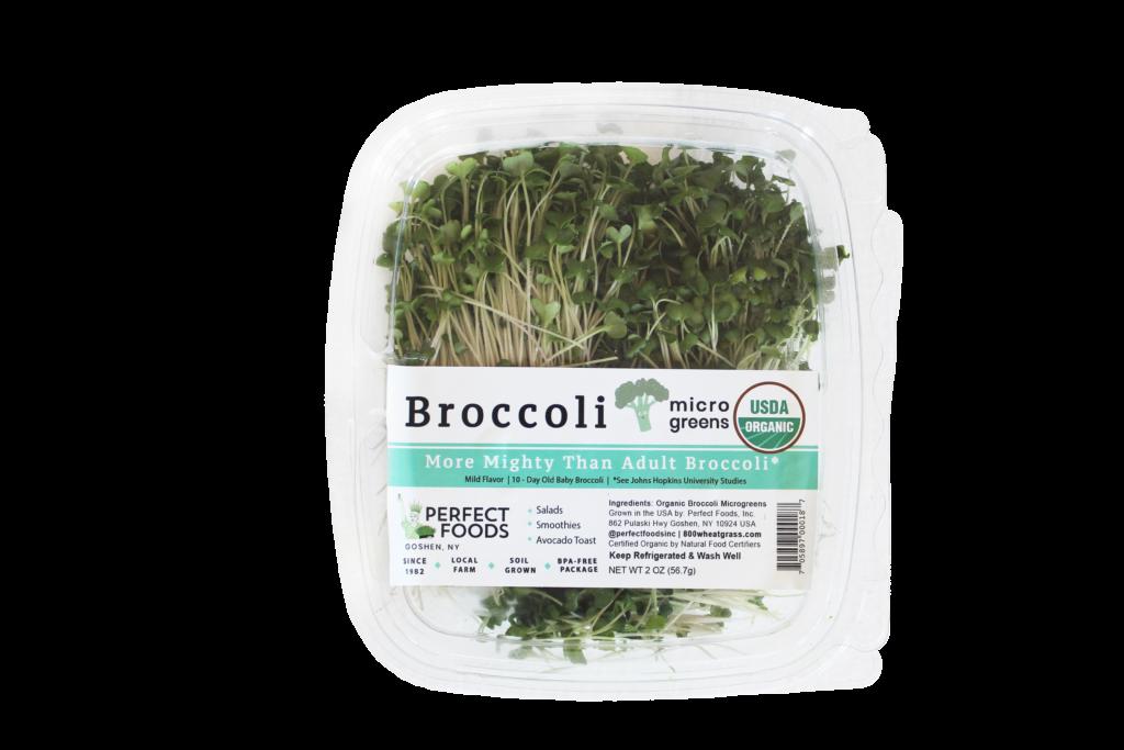 broccoli sulforaphane microgreen clamshell