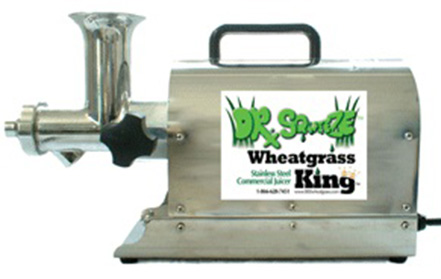 wheatgrass king commercial juicer