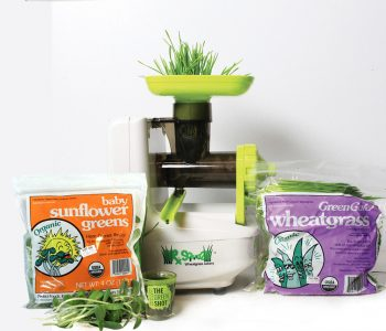 Perfect Foods Starter Package wheatgrass microgreens