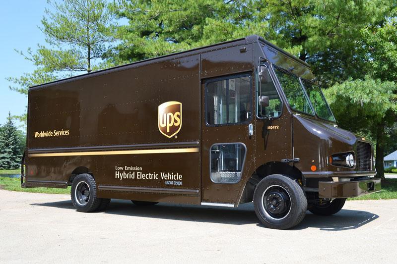 UPS Truck Ship Wheatgrass and Microgreens
