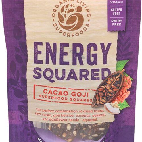 Cacao Goji Squares