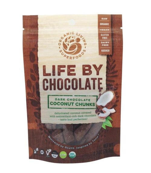 Dark Chocolate-Covered Coconut