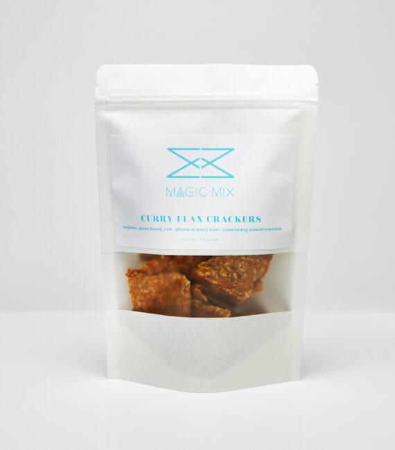 curry flax cracker