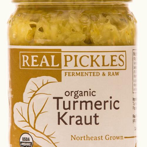 organic tumeric sauerkraut real pickles