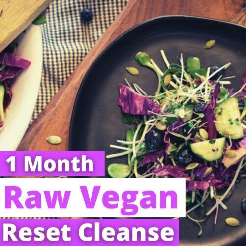 1 month raw vegan thumbnail