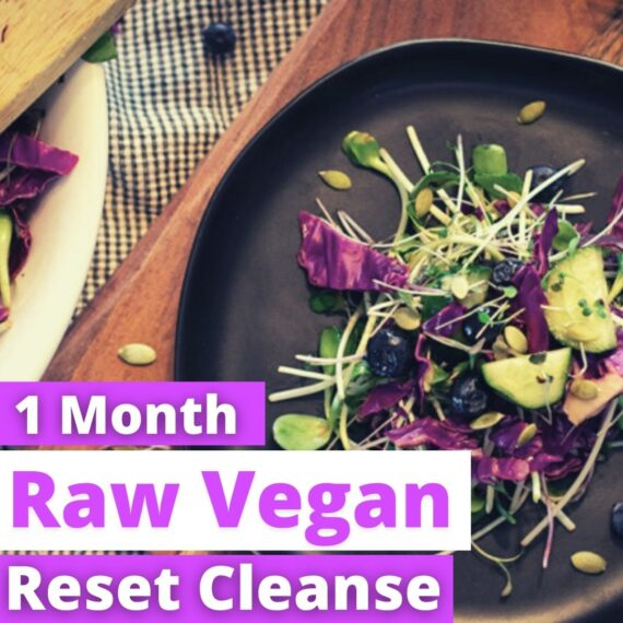 1 month raw vegan thumbnail